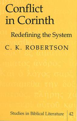 Conflict in Corinth: Redefining the System