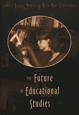 The Future of Educational Studies