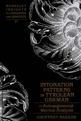 Intonation Patterns in Tyrolean German: An Autosegmental-metrical Analysis
