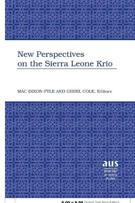 New Perspectives on the Sierra Leone Krio