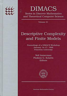 Descriptive Complexity and Finite Models