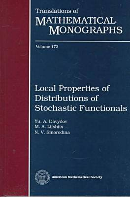 Local Properties of Distributions of Stochastic Functionals