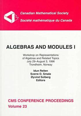 Algebras and Modules, Volume 1: Workshop on Representations of Algebras and Related Topics, July 29-August 3, 1996, Trondheim, Norway