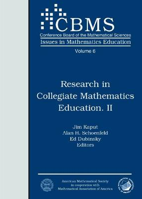 Mathematicians and Education Reform 1989-1990