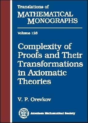 Complexity of Proofs and Their Transformations in Axiomatic Theories