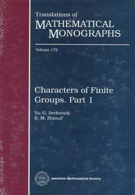 Characters of Finite Groups: Pt. 1