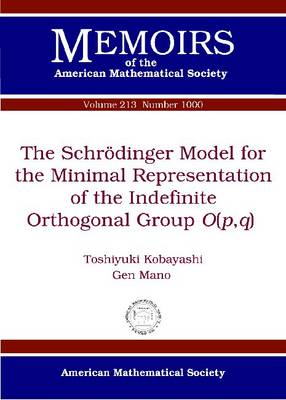 The Schroedinger Model for the Minimal Representation of the Indefinite Orthogonal Group $O(p,q)$