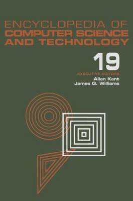 Encyclopedia of Computer Science and Technology: Supplement 4: Access Technoogy: Inc. to Symbol Manipulation Patkages