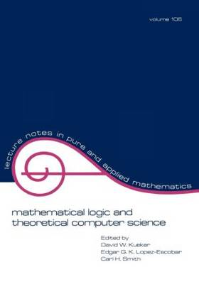 Mathematical Logic and Theoretical Computer Science