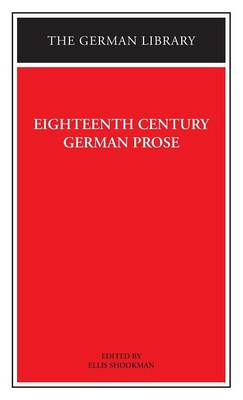 Eighteenth Century German Prose