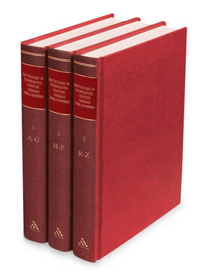 Dictionary of Eighteenth-Century German Philosophers