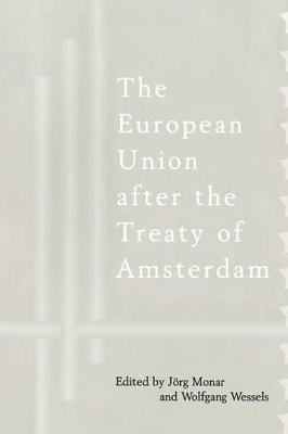 The European Union After the Treaty of Amsterdam