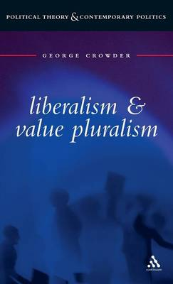 Liberalism and Value Pluralism