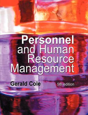 Personnel and Human Resource Management
