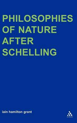 On an Artificial Earth: Philosophies of Nature After Schelling
