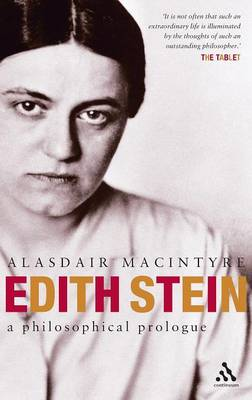 Edith Stein: The Origin and Development of Her Thought