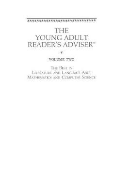 Young Adult Reader's Adviser: The Best in Social Sciences and History, Science and Health: Volume 2