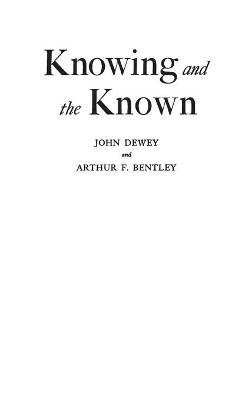 Knowing and the Known