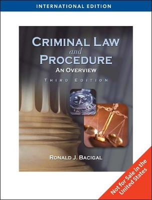 Criminal Law and Procedure: An Overview, International Edition