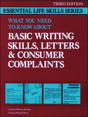 Basic Writing Skills, Letters & Consumer Complaints