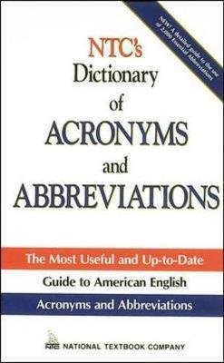 N.T.C.'s Dictionary of Acronyms and Abbreviations