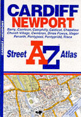 A-Z Cardiff and Newport Street Atlas