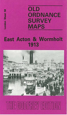 East Acton and Wormholt 1913: London Sheet 058.3