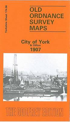 City of York and Clifton 1907: Yorkshire Sheet 174.06
