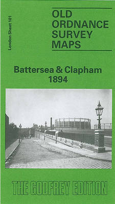 Battersea and Clapham 1894: London Sheet   101.2