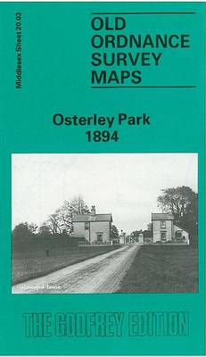 Osterley Park 1894: Middlesex Sheet 20.03a