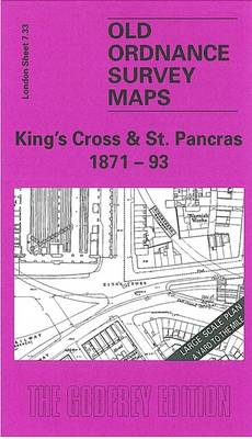 King's Cross and St.Pancras 1871-93: London Large Scale 07.33