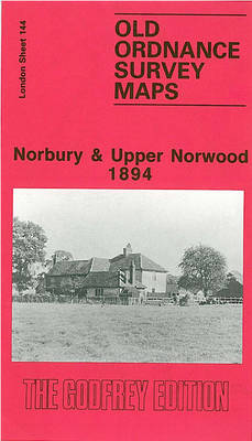 Norbury and Upper Norwood 1894: London Sheet 144