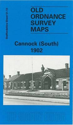 Cannock (South) 1902: Staffordshire Sheet 51.13