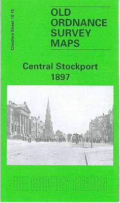 Central Stockport 1897: Cheshire Sheet 10.15