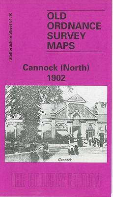 Cannock (North) 1902: Staffordshire Sheet 51.10