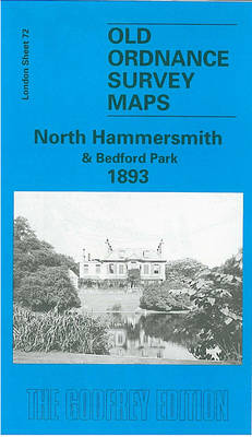North Hammersmith and Bedford Park 1893: London Sheet 072.2