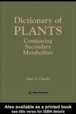 Directory Of Plants Containing Secondary Metabolites