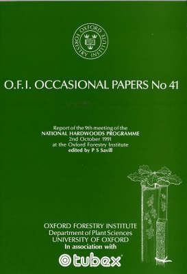 National Hardwoods Programme: Report of the Ninth Meeting, 2 October 1991
