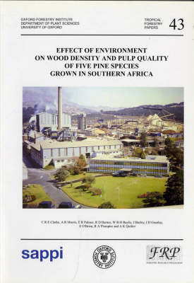 Effect of Environment on Wood Density and Pulp Quality of Five Pine: Species Grown in Southern Africa