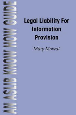 Legal Liability for Information Professionals