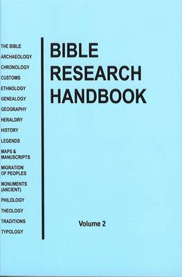Bible Research Handbook: v. 2