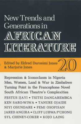 ALT 20 New Trends and Generations in African Literature