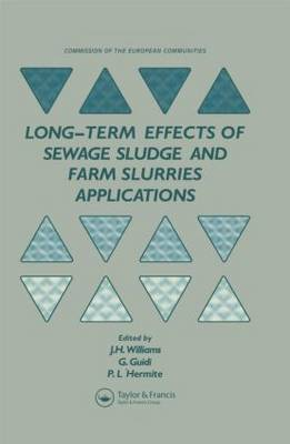 Long-term Effects of Sewage Sludge and Farm Slurries Applications: Round-table Seminar : Papers
