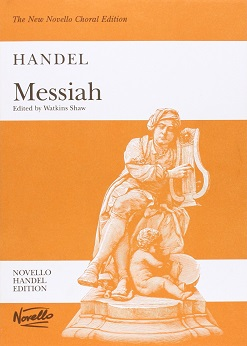 Handel's Messiah. Edited by Watkins Shaw. Vocal Score English Novello