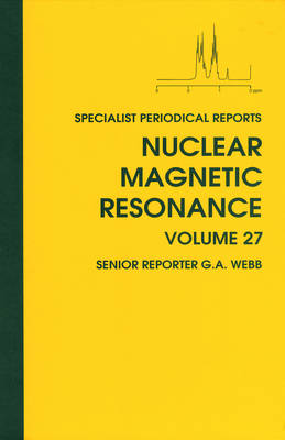 Nuclear Magnetic Resonance: Volume 27