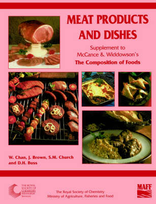 Meat Products and Dishes: Supplement to The Composition of Foods