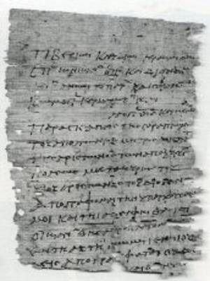 Papyri from Tebtunis in Egyptian and in Greek