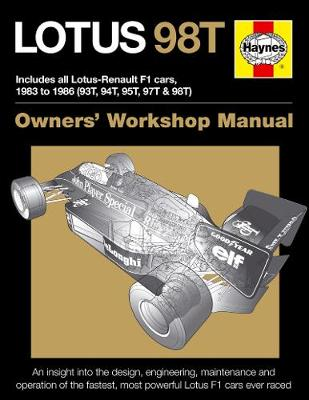 Lotus 98T Owners' Workshop Manual