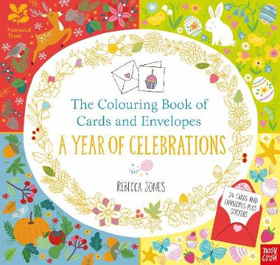 National trust the colouring book of cards and envelopes Coloring book national bookstore