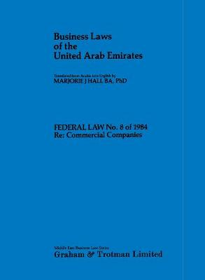 Commercial Companies Law of the United Arab Emirates